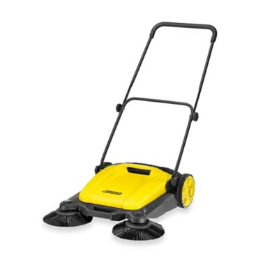 Karcher® S650 Floor Sweeper in Black/Yellow
