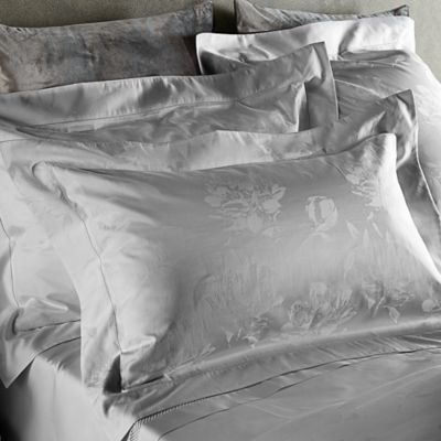 Frette At Home Giardino D'Inverno European Pillow Sham in Grey