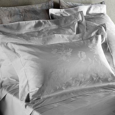 Frette At Home Giardino D'Inverno Standard Pillow Sham in Grey