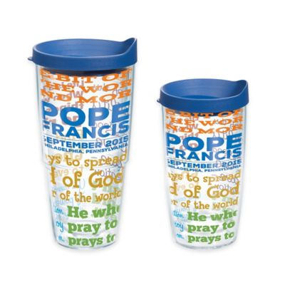 Tervis® Pope Quotes 16 oz. Wrap Tumbler with Lid