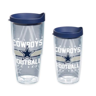 Tervis® NFL Dallas Cowboys Gridiron 16 oz. Wrap Tumbler with Lid