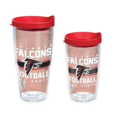 Tervis® NFL Atlanta Falcons Gridiron 16 oz. Wrap Tumbler with Lid