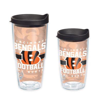 Tervis® NFL Cincinnati Bengals Gridiron 16 oz. Wrap Tumbler with Lid