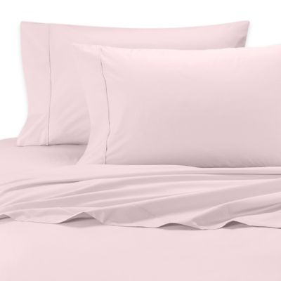 SHEEX® Iced Cotton Performance Queen Sheet Set in Pink