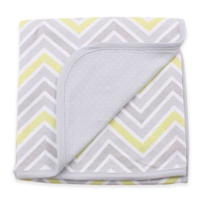 Minene Double-Sided Summer Zag Blankets in Grey