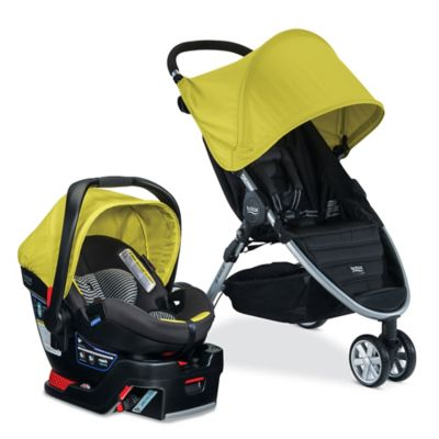 BRITAX B-Agile 3/B-Safe 35 Elite Travel System in Limeade