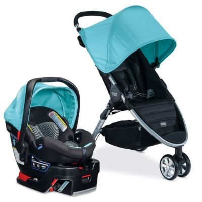 BRITAX B-Agile 3/B-Safe 35 Elite Travel System in Aqua