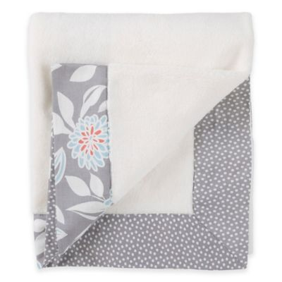 Balboa Baby® Simply Soft Blanket in Grey Dahlia