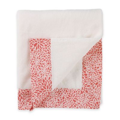 Balboa Baby® Simply Soft Blanket in Coral Bloom
