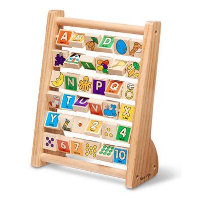 Melissa and Doug® ABC-123 36-Piece Abacus Set
