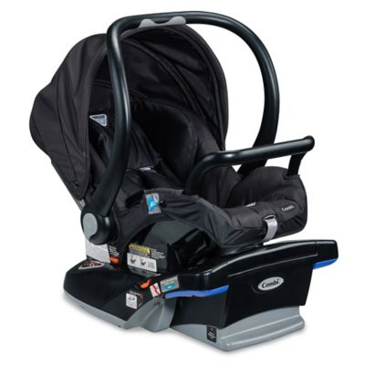Combi® Shuttle Titanium Infant Car Seat in Jet Black