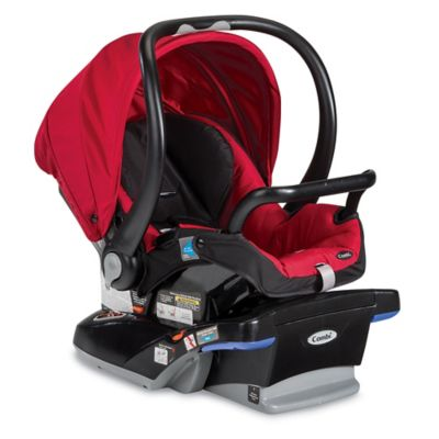 Infant Car Seats > Combi® Shuttle Titanium Infant Car Seat in Red Chili
