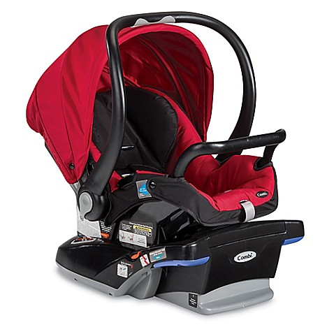 buy combi shuttle titanium infant car seat in red chili from bed bath beyond. Black Bedroom Furniture Sets. Home Design Ideas