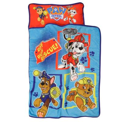 "Baby Boom ""Paw Patrol Ruff Ruff Rescue!"" Toddler Nap Mat in Blue"