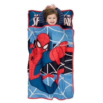 Napmats > Baby Boom Ultimate Spider-Man Toddler Nap Mat in Red