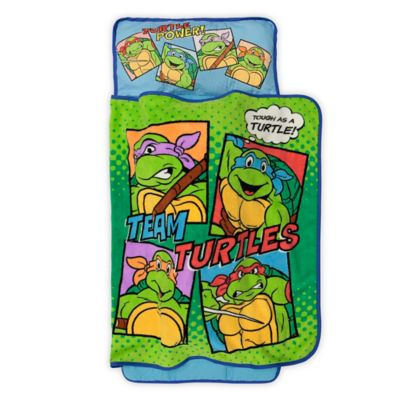 "Baby Boom TMNT ""Team Turtles"" Toddler Nap Mat in Green"