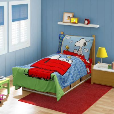 Baby Boom Snoopy 4-Piece Toddler Bedding Set