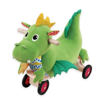 Wonderworld Puffy Dragon Ride-On Rocker