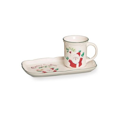 Pfaltzgraff® Winterberry 2-Piece Snack Set