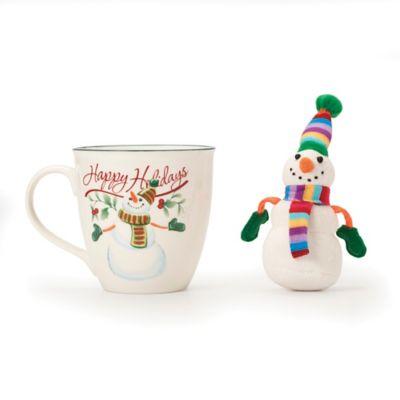 Pfaltzgraff® Winterberry Mug with Snowman Ornament