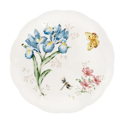 "Butterfly Meadow Orange Sulphur 10 3/4"" Dinner Plate"