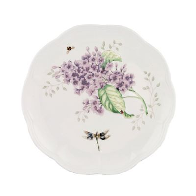 "Butterfly Meadow Orange Sulphur 9"" Accent Plate"