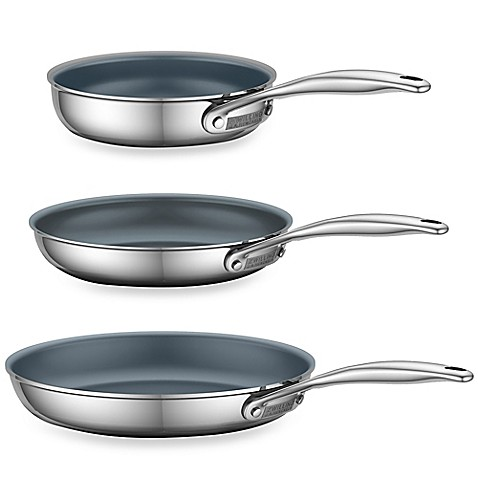 zwilling energy ceramic coated stainless steel open fry pans these fry ...
