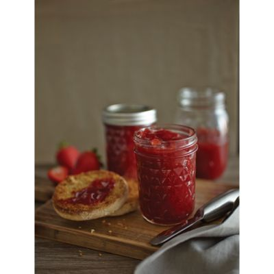 Ball® Crystal Quilted 12-Pack 8 oz. Glass Canning Jars