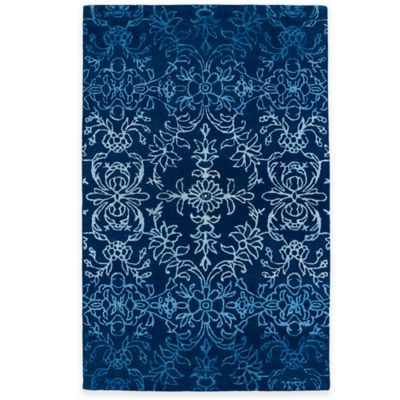 Kaleen Divine 5-Foot x 7-Foot 9-Inch Rug in Blue
