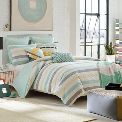 KAS ROOM Greta Twin Duvet Cover in Multi