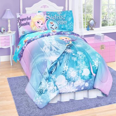 "Disney® ""Frozen"" Elsa Reversible Twin Comforter Set"