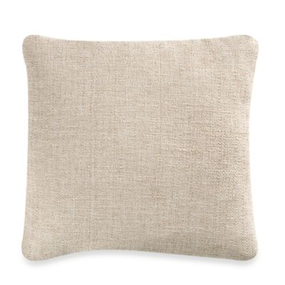 Bryon Square Throw Pillow in Natural