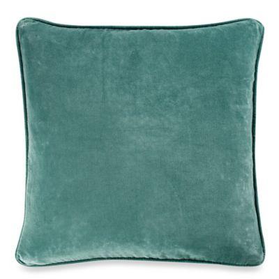 Roland 20-Inch Square Throw Pillow in Aqua