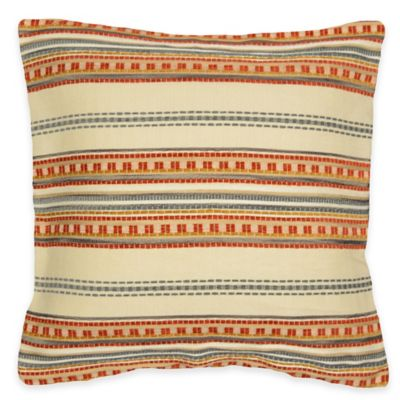 Weaving Square Throw Pillow