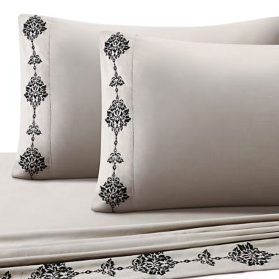 J. Queen New York Portofino Full Sheet Set in Taupe