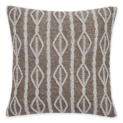 Flatiron® Linen Paisley Square Throw Pillow