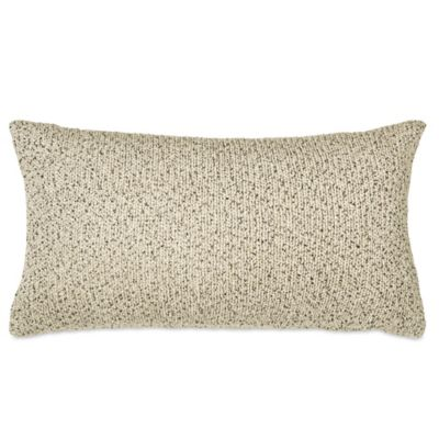 DKNY Subway Oblong Throw Pillow in Ivory