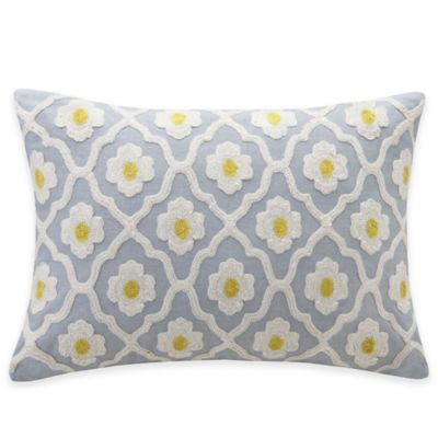 Echo Design Throw Pillows : Echo Design Madira Oblong Throw Pillow in Grey - Bed Bath & Beyond