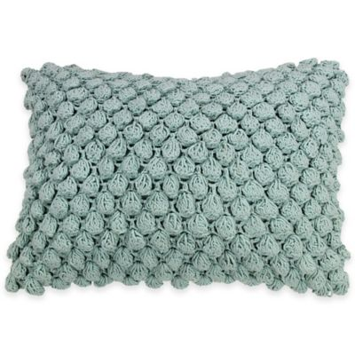 KAS ROOM Greta Dot Knit Oblong Throw Pillow in Multi