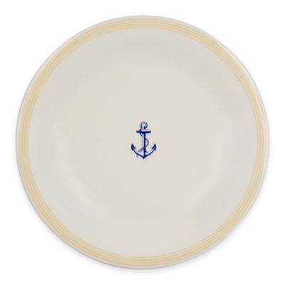 Marine Blue Dinner Plate