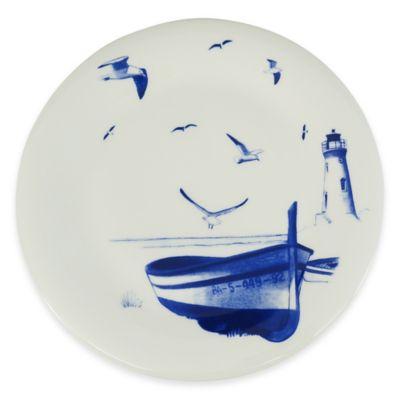 8 Blue Salad Plate