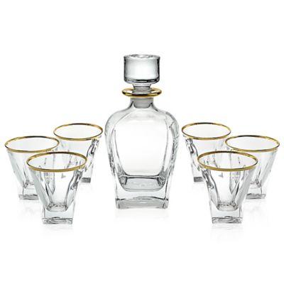 Gold Whiskey Set