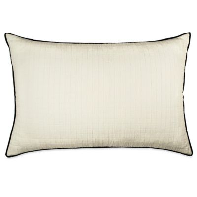 DKNY Subway King Pillow Sham in Ivory