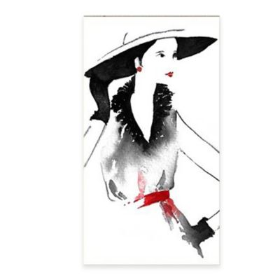 Graham & Brown Fashionable Lady Canvas Wall Art