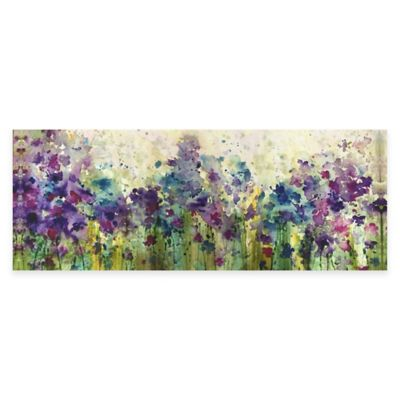 Watercolor Meadow Canvas Wall Art
