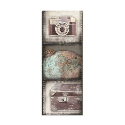 Vintage Travel Filmstrip Canvas Wall Art