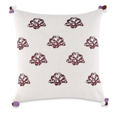 Anthology™ Arianna French Knot Square Throw Pillow