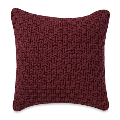 Anthology™ Arianna Knit Square Throw Pillow