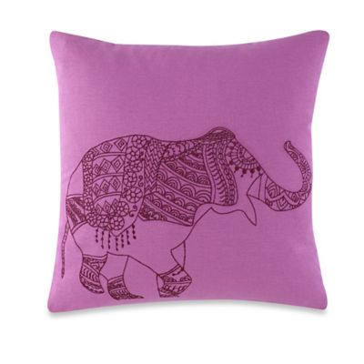 Anthology® Kylie Square Throw Pillow in Lilac
