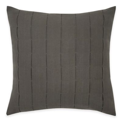 Flatiron® Parson Pleated Square Throw Pillow